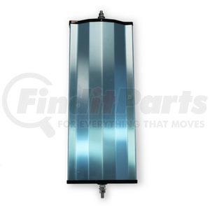 "705038 by VELVAC - Economy Mirror 6"" x 16"" Angle Back Mirror, Aluminu"