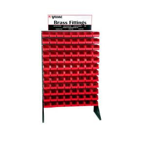 """690190 by VELVAC - Display Racks - Large Bin 14-3/4""""L x 16.5""""W x 7""""H (Holds 2-3 coiled electric, 1-2 coiled air sets)"""