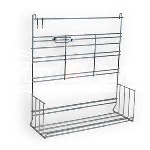 022630 by VELVAC - Large Hose Clamp Rack Display, Rack and Assortment Includes rack, header, and 270 of the most popular clamps