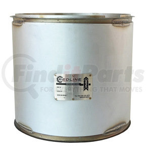 52931 by REDLINE EMISSIONS PRODUCTS - Cummins ISM, ISL Diesel Particulate Filter