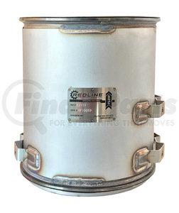 52939 by REDLINE EMISSIONS PRODUCTS - Detroit Diesel & Mercedes-Benz OM926 Diesel Particulate Filter