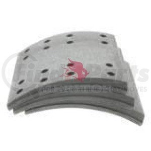 F5234551B by MERITOR - FRICTION MATERIAL - BRAKE LINING KIT, PER AXLE