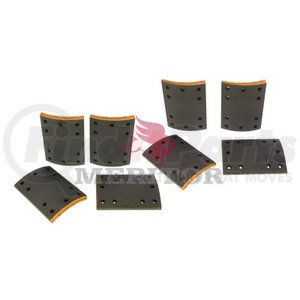 F5234692 by MERITOR - FRICTION MATERIAL - BRAKE LINING KIT, PER AXLE