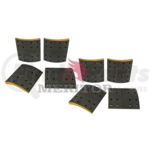 F5234726 by MERITOR - FRICTION MATERIAL - BRAKE LINING KIT, PER AXLE