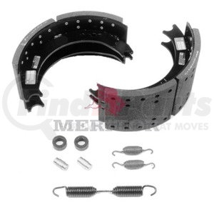 KSF5204311JE by MERITOR - BRAKE SHOE - SERVICE BRAKE SHOE AND LINING KIT