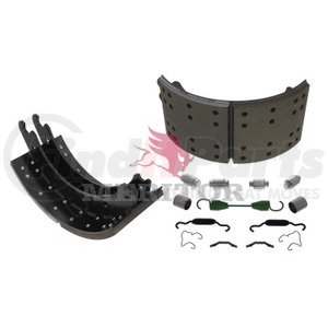 KSF5204515Q by MERITOR - BRAKE SHOE - SERVICE BRAKE SHOE AND LINING KIT