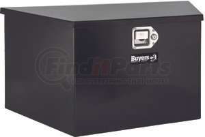 1701285 by BUYERS PRODUCTS - 16x16x49 Inch Black Steel Trailer Tongue Truck Box