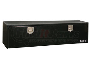 1702115 by BUYERS PRODUCTS - 18x18x60 Inch Black Steel Underbody Truck Box With Paddle Latch