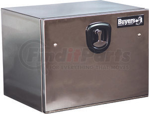 1702655 by BUYERS PRODUCTS - 18x18x36 Stainless Steel Truck Box With Stainless Steel Door - Highly Polished