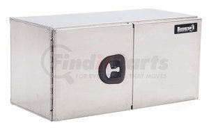 1705315 by BUYERS PRODUCTS - 18x18x60 Inch Smooth Aluminum Underbody Truck Box With Barn Door