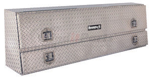 1705640 by BUYERS PRODUCTS - 21x13.5/10x72 Inch Diamond Tread Aluminum Contractor Truck Box