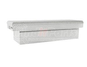 1709305 by BUYERS PRODUCTS - 18x20x71 Inch Diamond Tread Aluminum Crossover Truck Box - Lower Half 11x20x60