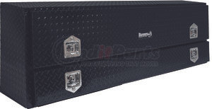 1725640 by BUYERS PRODUCTS - 21x13.5/10x72 Inch Black Diamond Tread Aluminum Contractor Truck Box