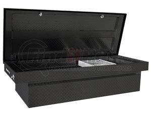 1729308 by BUYERS PRODUCTS - 23x20x71 Inch Black Diamond Tread Aluminum Crossover Truck Box - Lower Half 16x20x60