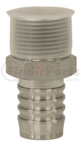 BCA20180 by BUYERS PRODUCTS - Suction Hose Barbed Adapter 1-1/4 Inch Male NPT x 1-1/4 Inch Hose Barb