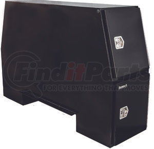 BP855524B by BUYERS PRODUCTS - 55x24x85 Inch Black Steel Backpack Truck Box