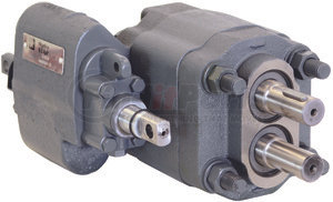 C1010 by BUYERS PRODUCTS - Remote Mount Hydraulic Pump With Manual Valve And 2-1/2 Inch Diameter Gear