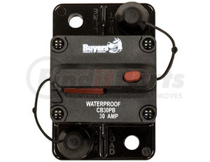 CB30PB by BUYERS PRODUCTS - 30 Amp Circuit Breaker With Manual Push-to-Trip Reset