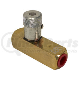 F400B by BUYERS PRODUCTS - VALVE, FLOW CONTROL BRASS 1/4in