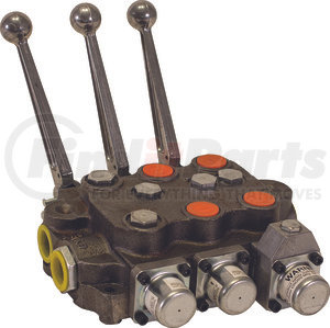 HV3331NAAG2EC0 by BUYERS PRODUCTS - 3 Spool Directional Control Valve 3-Way Detent In/3-way Spring Center/4-Way/PB