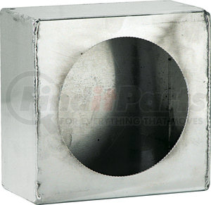 LB663SST by BUYERS PRODUCTS - Single Round Light Box Stainless Steel