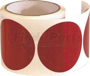 5623000 by BUYERS PRODUCTS - 3 Inch Red Round DOT Stick-On Reflectors