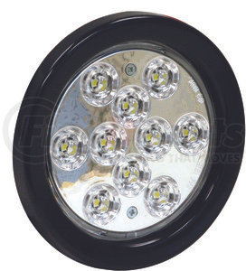 5624310 by BUYERS PRODUCTS - 4 Inch Clear Round Backup Light Kit With 10 LED
