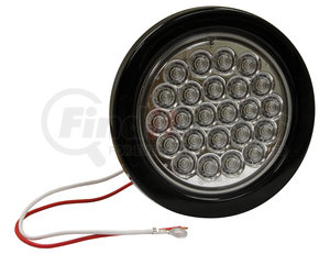 5624324 by BUYERS PRODUCTS - 4 Inch Clear Round Backup Light Kit With 24 LED