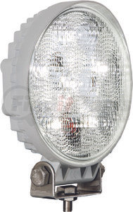 1493215 by BUYERS PRODUCTS - 4.6 Inch Round LED Clear Flood Light with White Housing