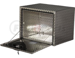 1705148 by BUYERS PRODUCTS - Diamond Tread Aluminum Underbody Truck Box - 14 x 12 x 16 in.