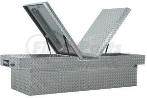 1710305 by BUYERS PRODUCTS - 18x20x71 Inch Diamond Tread Aluminum Gull Wing Truck Box - Lower Half 11x20x60