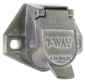TC1007 by BUYERS PRODUCTS - 7-Way Die-Cast Zinc Trailer Connector - Truck-Side