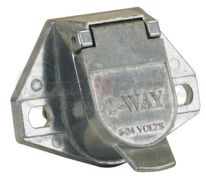 TC1002 by BUYERS PRODUCTS - 2-Pin Truck End Truck Connector, Metal (round)
