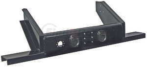 1809050 by BUYERS PRODUCTS - Flatbed Dump Hitch Bumper w/ Pintle Hook Mounting Holes
