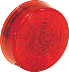 5622512 by BUYERS PRODUCTS - 2.5 Inch Red Round Marker/Clearance Light With 2 LED