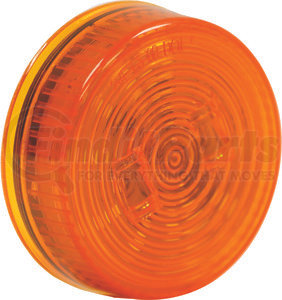5622522 by BUYERS PRODUCTS - 2.5 Inch Amber Round Marker/Clearance Light With 2 LED