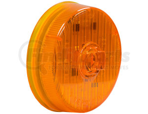 5622527 by BUYERS PRODUCTS - 2.5 Inch Amber Round Marker/Clearance Light With 7 LED