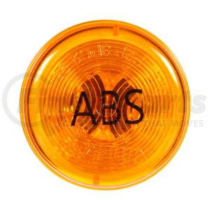 30257Y by TRUCK-LITE - Yellow, Vertical 12V Lamp w/ ABS Logo