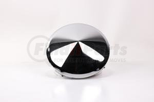 CF450M by POWER PRODUCTS - Front Hubcap - Chrome Cone