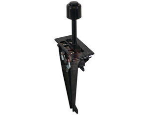 BA62 by BUYERS PRODUCTS - Air PTO-Hoist B-Series Single Lever Control 5/16-24 Threaded Cable/PTO Air Valve