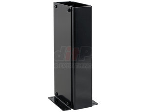 QTS by BUYERS PRODUCTS - Black Powder Coated Steel Console - Single Lever Control