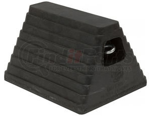 WC6810L by BUYERS PRODUCTS - Heavy Duty Rubber Wheel Chock with Chain Eye 10x8x6 Inch