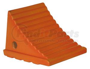 WC786 by BUYERS PRODUCTS - Small Orange Polyurethane Wheel Chock Set 7.38x8.31x6.25 Inch