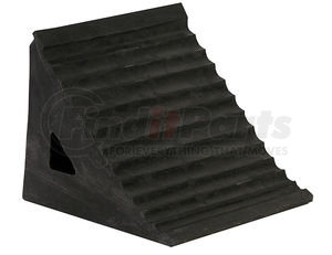WC796R by BUYERS PRODUCTS - Rubber Wheel Chock with Chain Eye
