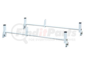 1501310 by BUYERS PRODUCTS - Van Ladder Rack - Gutter Mount - White