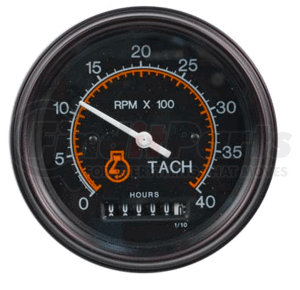 71725-00 by DATCON INSTRUMENT CO. - Datcon Instruments, Tachometer/Hourmeter, Electric, 0-4000 RPM / 0-99999.9 Hours, 12/24V