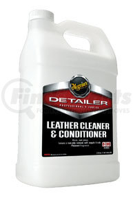 D18001 by MEGUIAR'S - Detailer Leather Cleaner & Conditioner, Gallon
