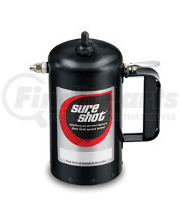 1000B by SURE SHOT - 32 oz. Powder Coated Steel Sprayer, Black
