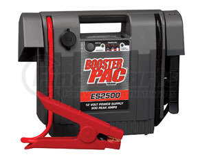 ES2500KE by BOOSTER PAC - B1100 Peak Amp 12 Volt Jump Starter  w/ Power Cord & Charger 900A