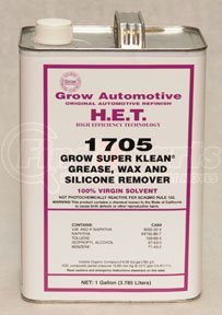 1705-1 by GROW AUTOMOTIVE - Super Klean® Wax, Grease, and Silicone Remover, Gallon